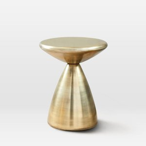 Cosmo Side Table Antique Brass