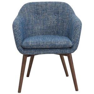 Minto Accent Chair Blue Blend