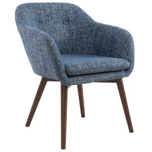 Minto Accent Chair Blue Blend