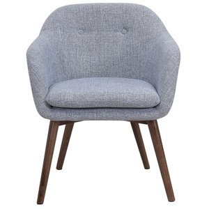 Minto Accent Chair Gray Blend
