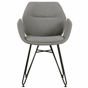 Zane Accent Chair Gray