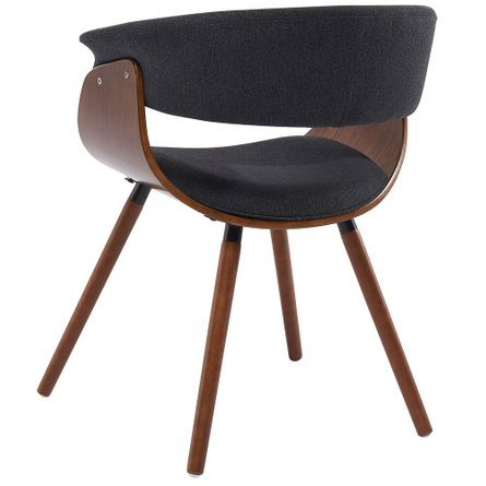 Holt Accent Chair Charcoal Gray