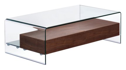 Shaman Coffee Table Walnut