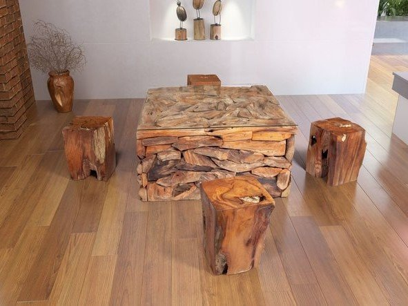 Erosion Coffee Table Natural