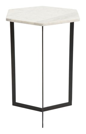 Rys Accent Table Black & White