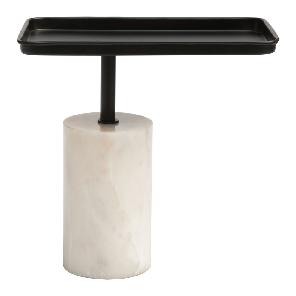 Dover Accent Table Black & White