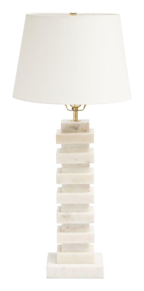 Stewart Table Lamp White