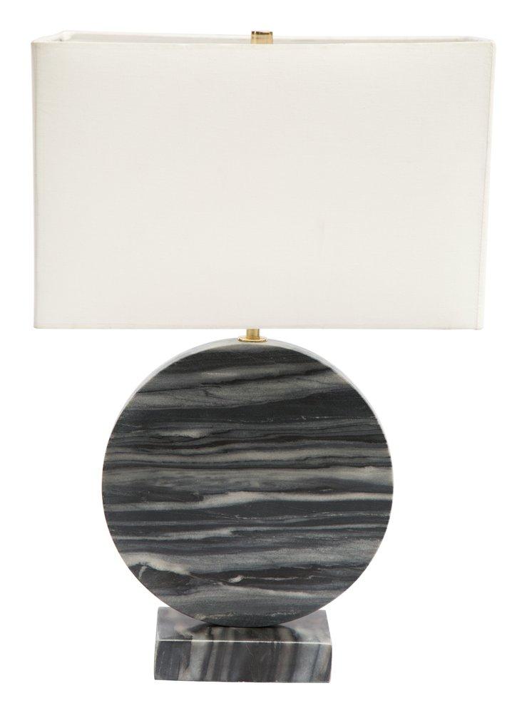 Simi Table Lamp White & Black