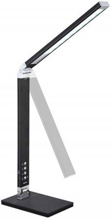Jett LED Desk Lamp with USB Port Light Black