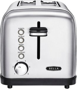 Bella Classics 2-Slice Wide Slot Toaster