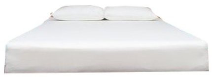 "Eight King Mattress 10"" White"