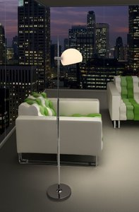 Astro Floor Lamp Frosted Glass