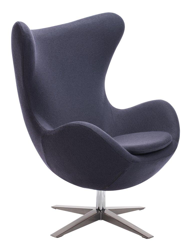 Skien Arm Chair Iron Gray