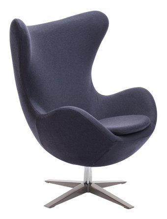Skien Arm Chair Iron Gray