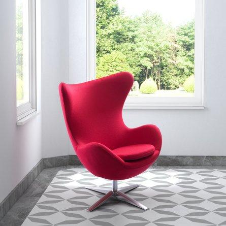 Skien Arm Chair Red