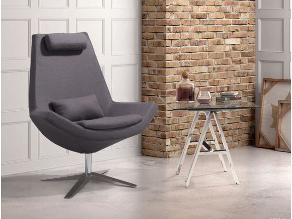Bruges Occasional Chair Charcoal Gray