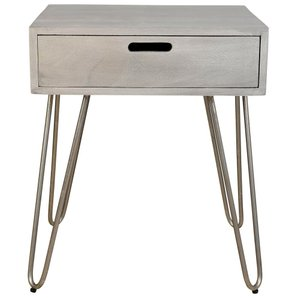 Jaydo Accent Table Light Grey