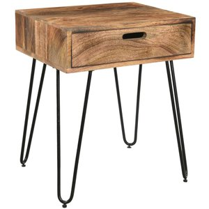Jaydo Accent Table Natural Burnt