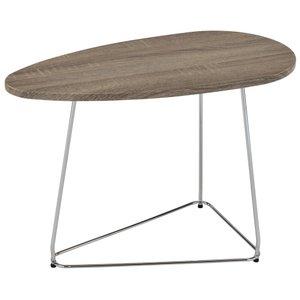 Onyx Accent Table Driftwood Oak