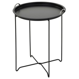 Flint Accent Table Black