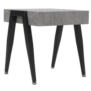 Lisson Accent Table Cement