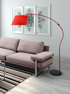 Derecho Floor Lamp Red