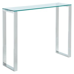 Zevon Console Table Silver