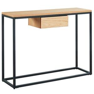 Lance Console Table Oak
