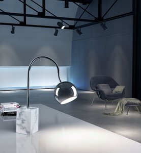 Run Table Lamp Chrome