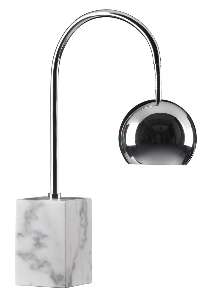 Run Table Lamp Chrome