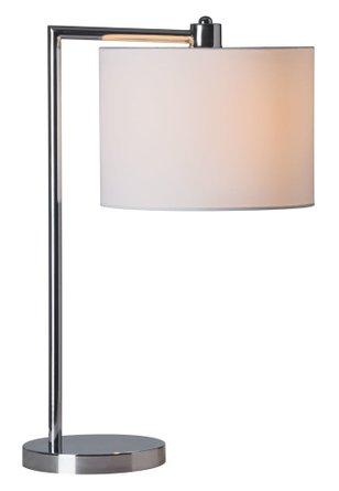 Race Table Lamp Chrome