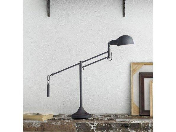 Skip Table Lamp Black
