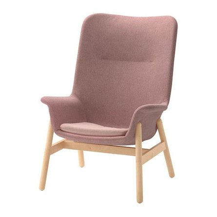 Vedbo Arm Chair Pink