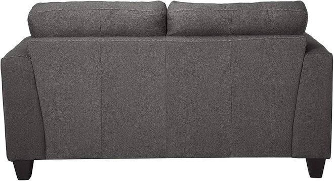 Samuel Tufted Loveseat Charcoal