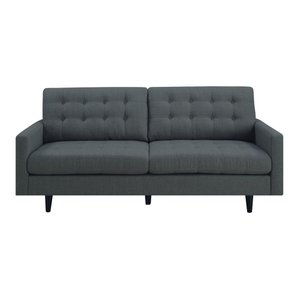 Kesson Modern Sofa Charcoal