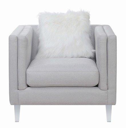 Scott Living Hemet Modern Chair Light Gray