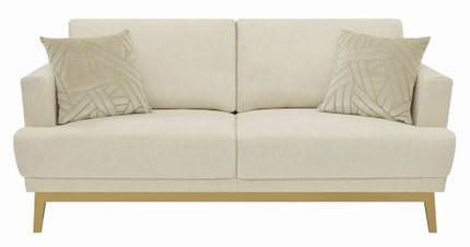 Scott Living Margot Mid-Century Sofa Beige