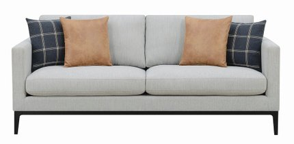 Scott Living Asherton Modern Sofa Gray
