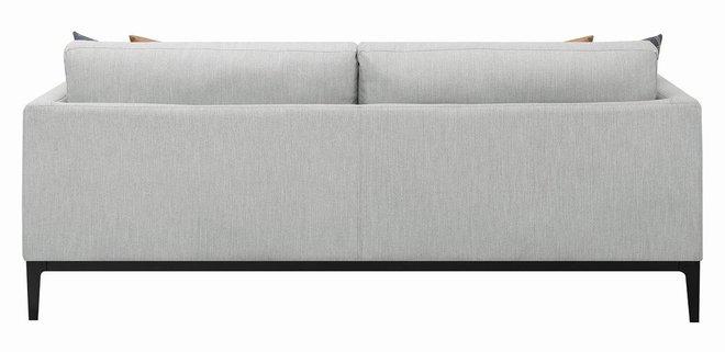 Scott Living Asherton Modern Sofa Gray