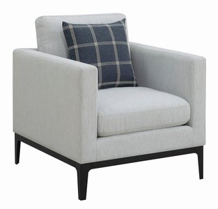 Scott Living Asherton Modern Chair Gray