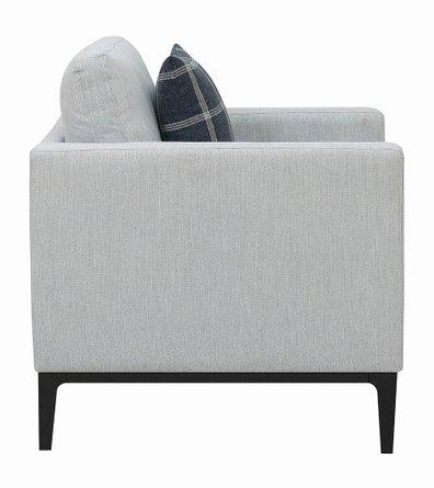 Scott Living Asherton Modern Chair Gray