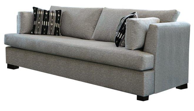 Lola Upholstered Sofa Gray