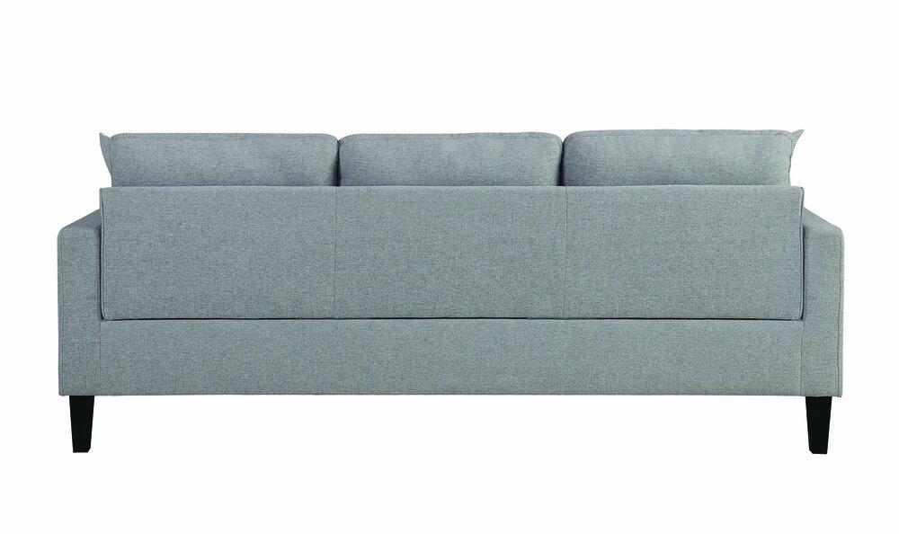 Fabulous Metro Upholstered Tufted Reversible Sectional Sofa Light Creativecarmelina Interior Chair Design Creativecarmelinacom