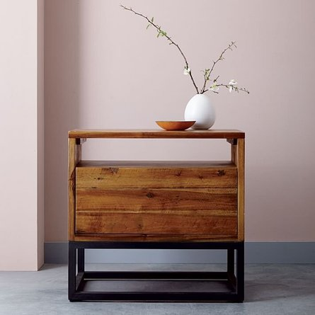 West Elm Logan Nightstand Natural