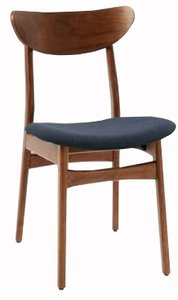 West Elm Classic Dining Chair Nightshade Mod Weave Walnut