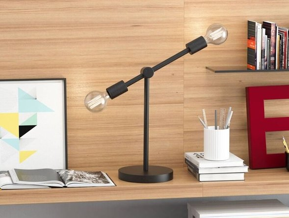 Brixton Table Lamp Rust