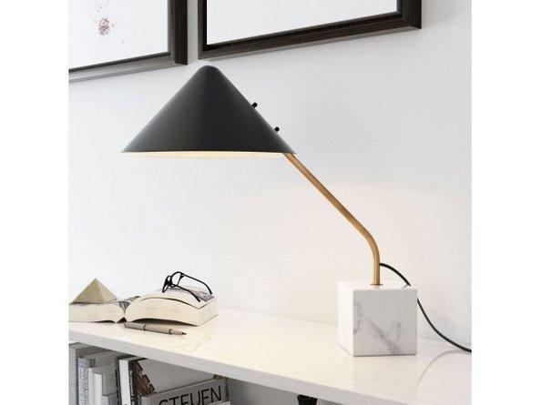 Pike Table Lamp Black