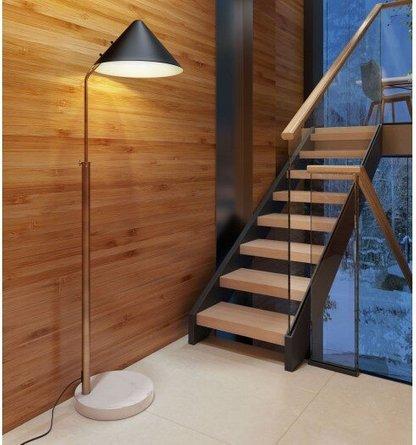 Pike Floor Lamp Black