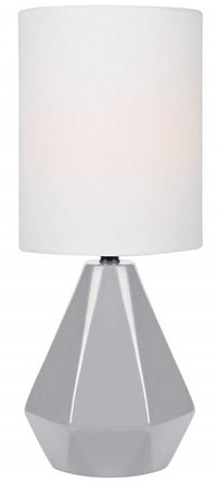 Lite Source Mason Accent Table Lamp Gray