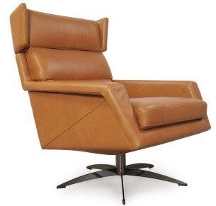 Hansen Windham Swivel Chair Tan